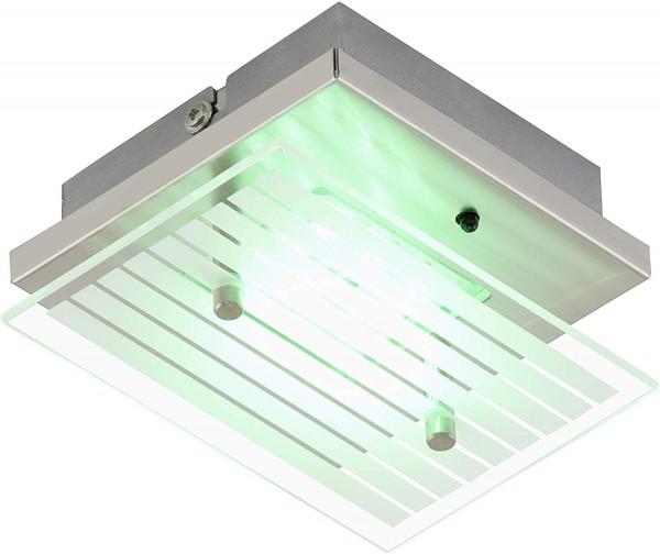 Briloner RGB LED Deckenleuchte Mit Fernbedienung Deckenlampe Dimmbar wandleuchte