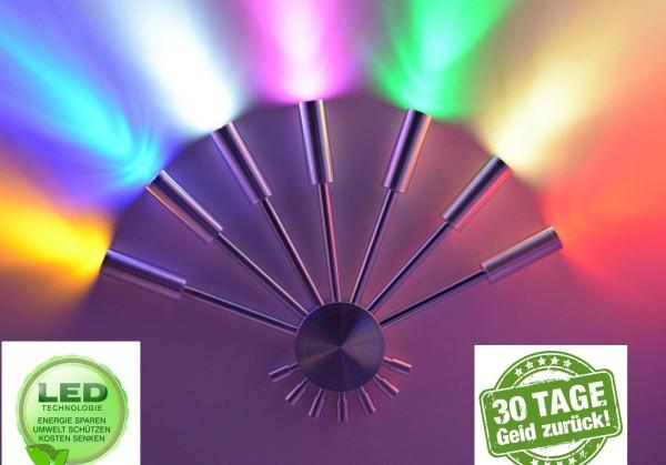 LED Wandlampe Wandleuchte Flurlampe 7 Farben bar Lampe Leuchte