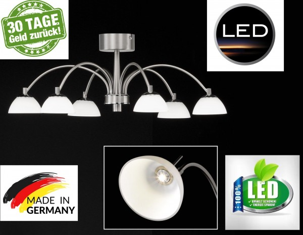 Hugo honsel 20026 LED Deckenlampe Deckenleuchte