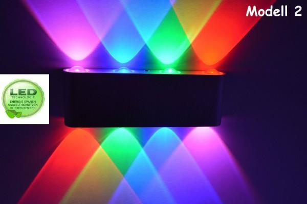 RGB LED Wandlampe Wandleuchte Flurlampe Farben bar Lampe Leuchte mm