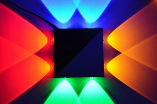 LED Wandlampe Wandleuchte Flurlampe 4 Farben bar Lampe Leuchte 114