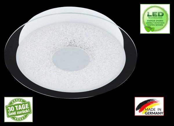 Honsel 23051 Spark LED Deckenleuchte Lampe weiß acryl glas klar Leuchte rund SMD