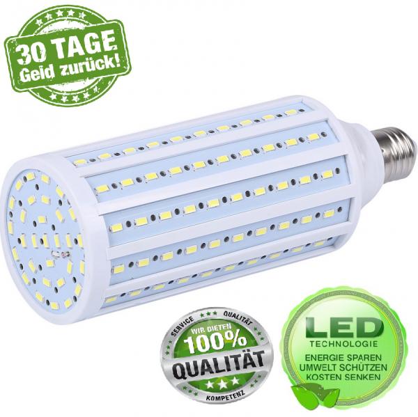 LED E27 15W SMD 5050 Mais Leuchte Lampe Birne Leuchtmittel Glühbirne KaltWeiß