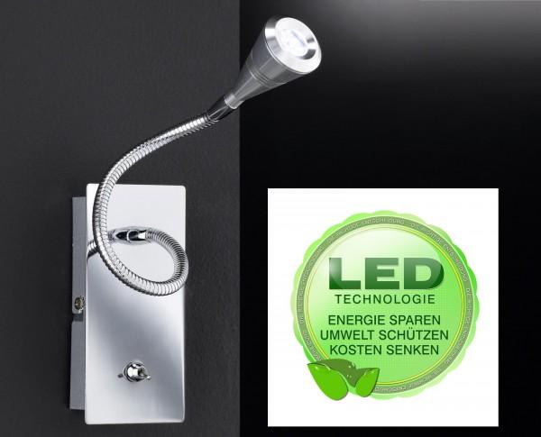 Honsel 27371 Lem LED Wandleuchte Wand lampe Flurlampe Büro Leuchte m Schalter