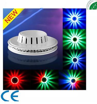 LED UFO Sunflower 48 RGB LICHT EFFEKT Wandbeleuchtung Deko Farbwechsler Party