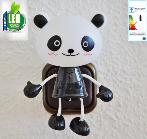 LED SteckdosenLampe Nachtlicht Steckdose beleuchtung Kinder Spielzeug Dämmerung Panda