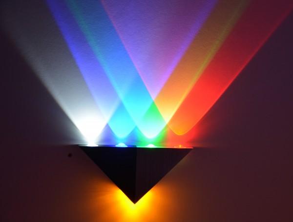 LED Wandlampe Wandleuchte Flurlampe 4 Farben bar Lampe Leuchte