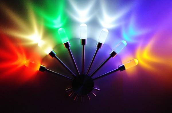 LED Wandlampe Wandleuchte Flurlampe Farben bar Lampe Leuchte ä led