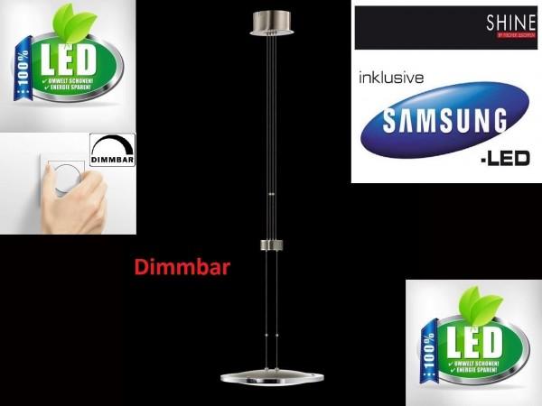 Fischer SHINE 54201 LED Pendelleuchte Dimmbar Esszimmer Lampe Hängeleuchte LED R