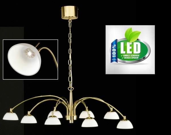 Honsel 11688 Julie LED Deckenleuchte Pendelleuchte leuchte lampe messing matt