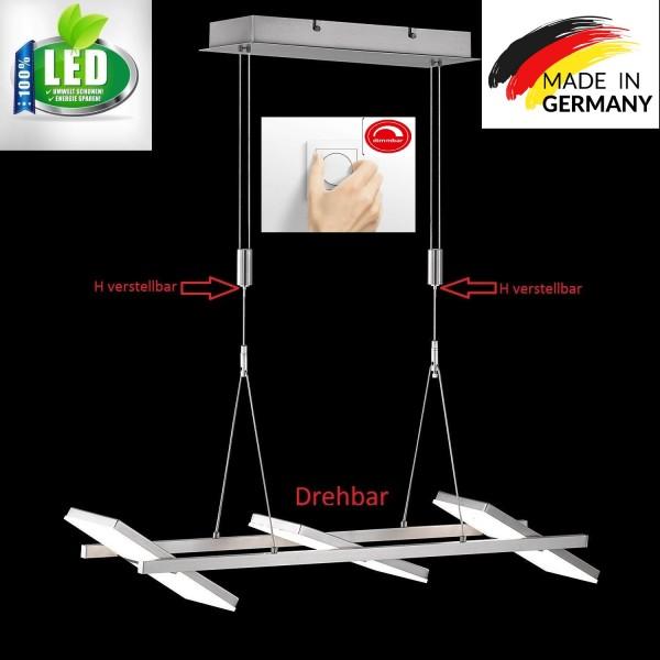 Honsel 68836 Mill LED Pendelleuchte Büro Decken lampe drehbar Dimmbar Dimmer