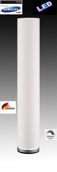 LED Fischer Shine 16734 Stehleuchte Standlampe dimmbar mit Stoffschirm