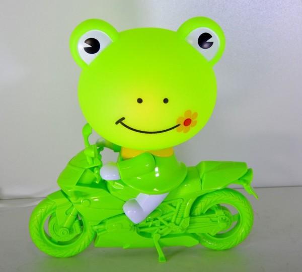 Kinder Nachttischleuchte Frosch Motorrad Tischleuchte Tischlampe Mit schalte