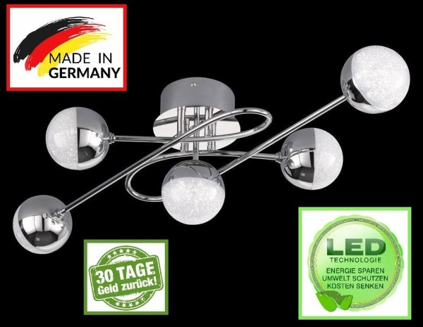 Honsel 22170 LED Deckenleuchte Mitra LED