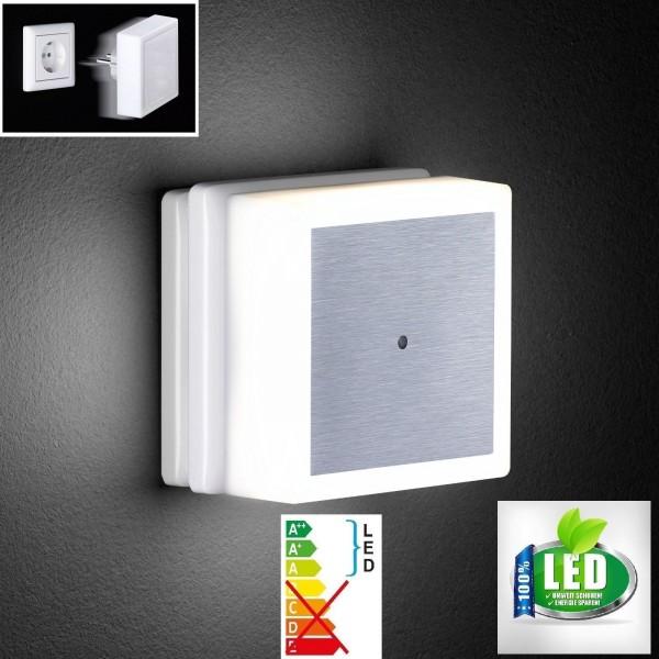 Honsel 39411 LED Nachtlicht Steckdosenleuchte Nachtlampe Nachtlichlampe