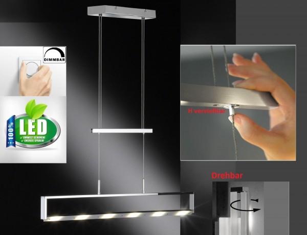 Honsel 67596 Anders LED Pendelleuchte Büro Decken lampe drehbar Dimmbar Dimmer R