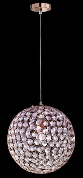 Honsel 61060 Estrella copper Pendelleuchte Deckenleuchte E27 lampe Prismen rose