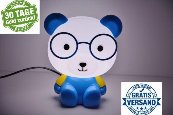 Tischlampe Kinder Tischlampe Nachttisch Lampe Tischleuchte Tiere Leselampe blau