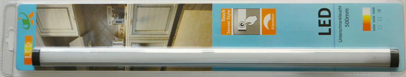 LED Unterschrankleuchte Touch Infrarot Sensor Dimmbar Lampe Küche Schrank