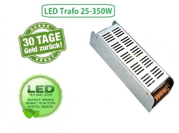 Braytron LED Trafo Netzteil Driver Trafo Treiber Transformator DC 12V 25-350 Watt Kompakt