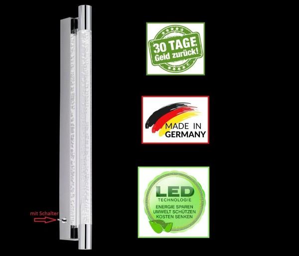 Honsel 39991 Bubble LED Wandleuchte Wandlampe Flurlampe Büro lampe mit Schalter