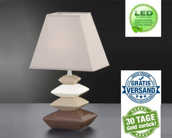 Honsel 96811 Sophie Tischleuchte Büro leuchte lese Lampe Keramik Design
