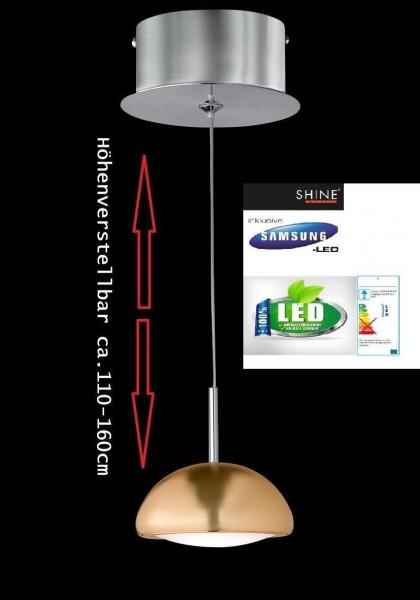 Honsel 69441 Ufo Power LED Deckenleuchte Pendelleuchte Leuchte Lampe nickel