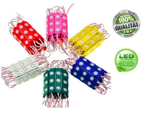 LED Module Wasserdicht IP65 Modul Selbstklebend Strip Band SMD 12V Farben