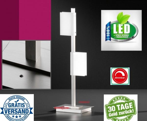 Honsel 51002 Lienzo LED Tischleuchte Büro Leuchte Lese Lampe dimmbar Chrom