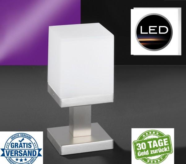 Honsel 50571 Milli LED Tischlampe Leuchte Schreibtischleuchte Leselampe Nickel