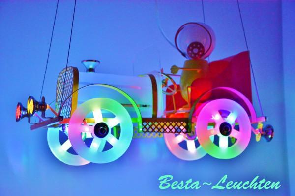 LED Kinderlampe Kinderzimmer Deckenleuchte Pendellleuchte Lampe Kids Auto Fahrer