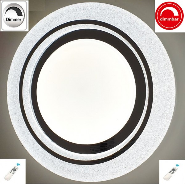 LED Deckenleuchte Deckenlampe Mit Fernbedienung Dimmbar Farbe einstellbar kalt