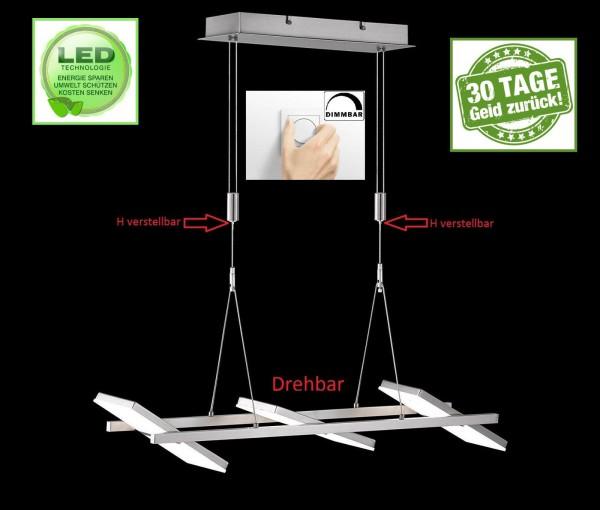 Honsel 68836 Mill LED Pendelleuchte Büro Decken lampe drehbar Dimmbar Dimmer R