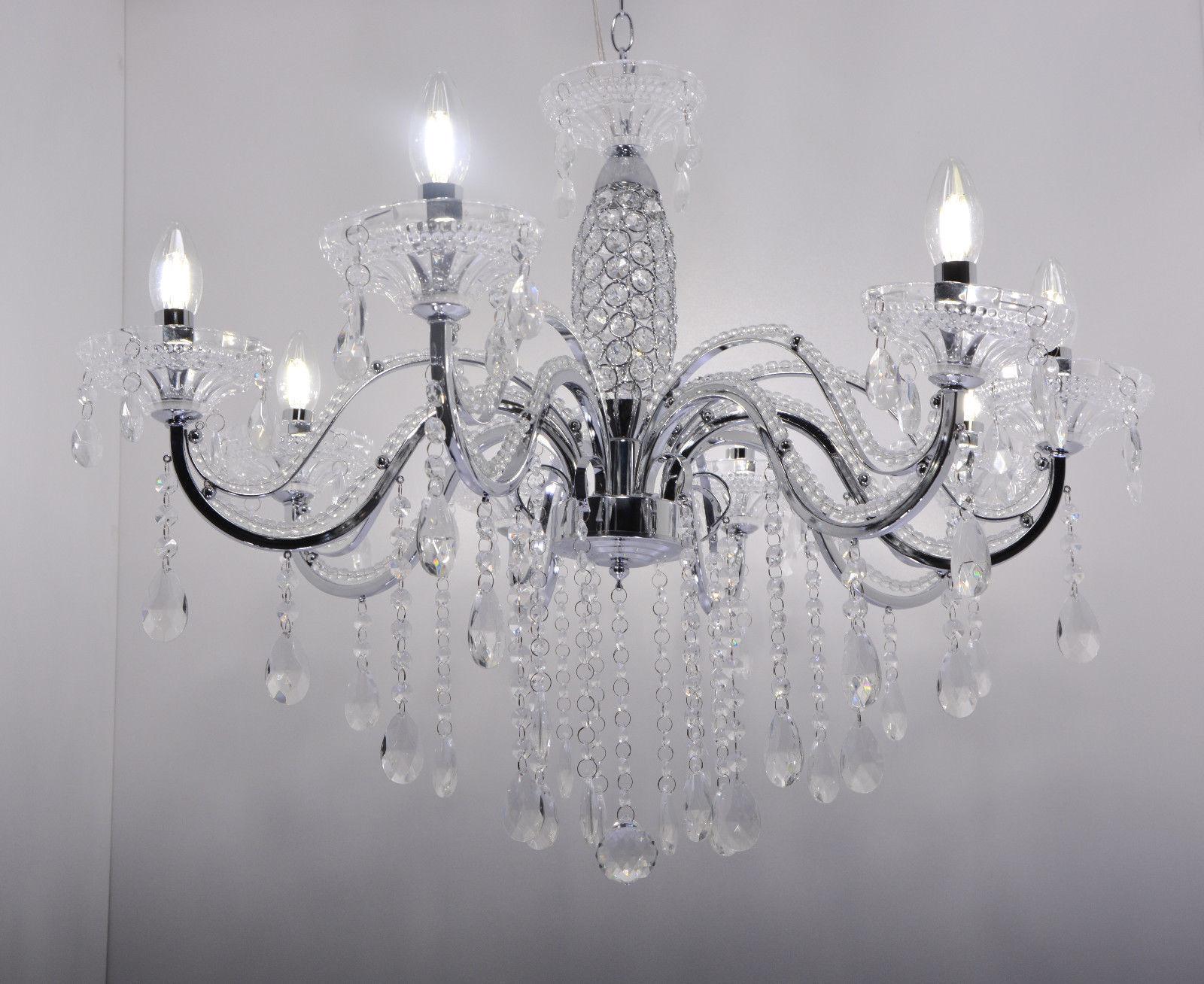 Hängelampe Kronleuchter Kristall ~ Pendelleuchte hängelampe leuchte deckenlampe kronleuchter kristall