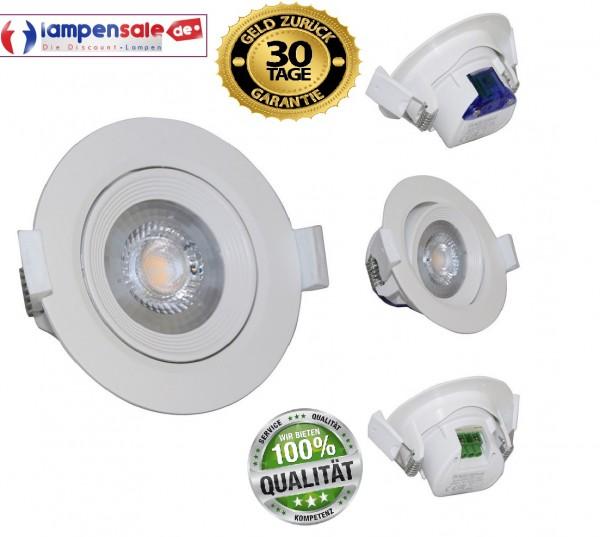 LED Panel Einbaustrahler DeckenLeuchte Einbau Downlight IP20 3000-6500K BrayTron