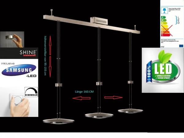 LED fischer shine 16783 Pendelleuchte Hängeleuchte Deckenleuchte dimmbar