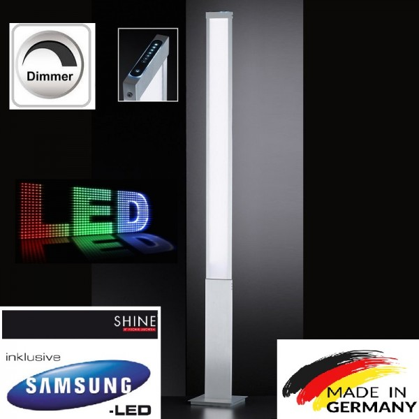 Honsel 40050 Led Standleuchte dimmbar Stehleuchte Stehlampe