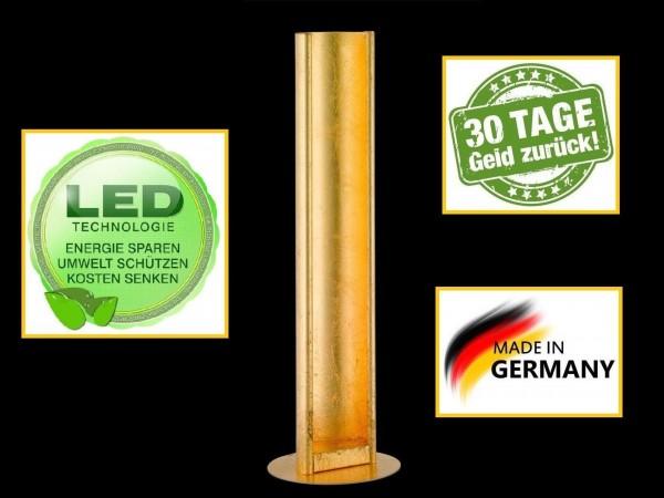 Honsel 95881 Donar LED Tischleuchte Büro Leuchte Lese Lampe dimmbar blatt gold