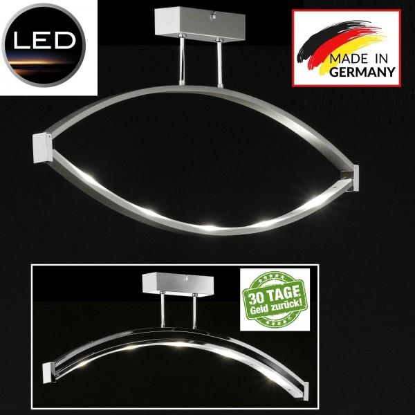 Honsel 29305 Lucy LED Deckenleuchte glas weiß leuchte lampe Schwenkbar Nickel