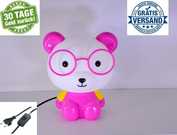 Tischlampe Kinder Tischlampe Nachttisch Lampe Tischleuchte Tiere Leselampe pink