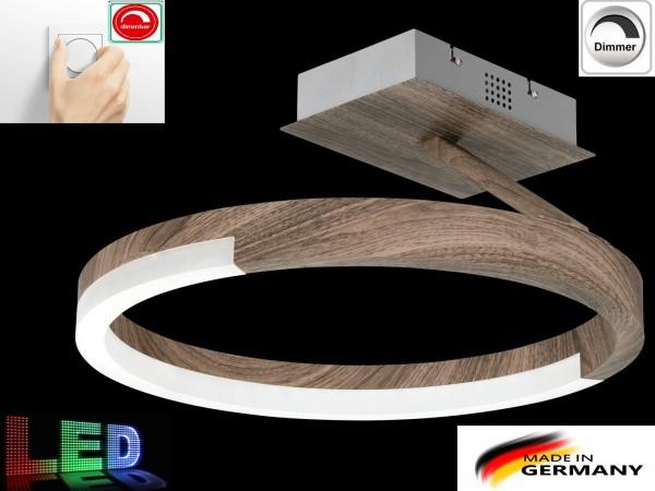 Honsel 23107 LED STICK Holz dimmbar moderne Deckenlampe Deckenleuchte Design