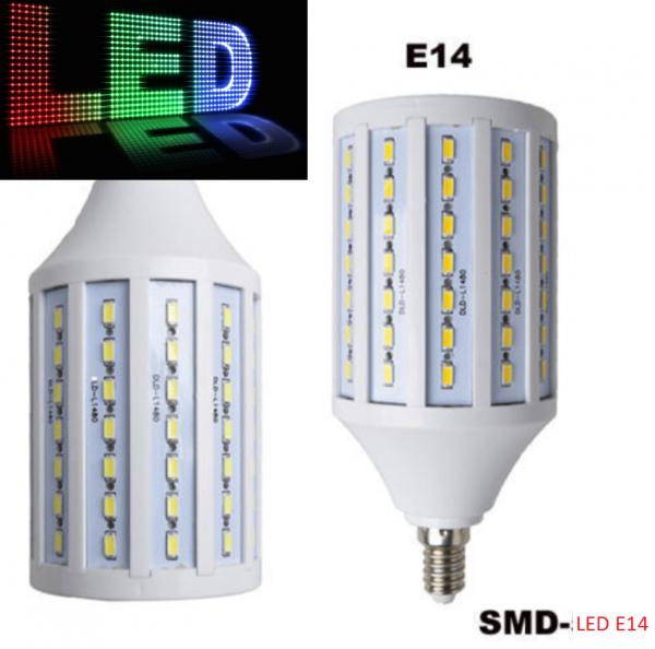 LED E14 12W SMD 5050 Mais Leuchte Lampe Birne Leuchtmittel Glühbirne KaltWeiß