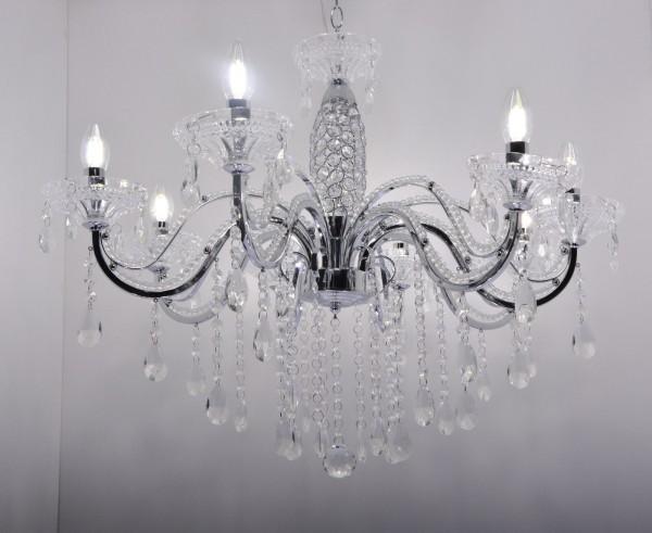 Kronleuchter Kristall Schwarz ~ Pendelleuchte hängelampe leuchte deckenlampe kronleuchter kristall