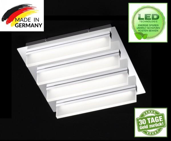 Honsel 21504 LED Leuchten Deckenleuchte Sporto IP 20 Acryl Glas Leuchte Lampe