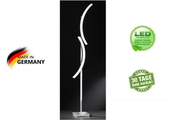 Honsel 45072 Tangenz LED Stehleuchte Stand Lampe Büro Wohnzimmer Dimmbar modern