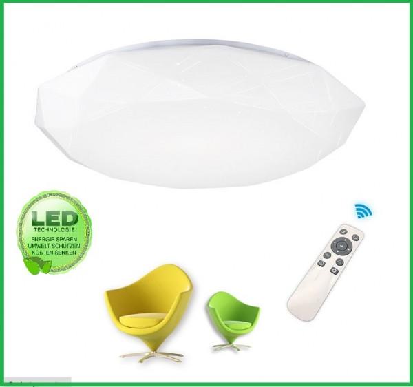 LED Deckenleuchte Deckenlampe Badlampe Mit Fernbedienung Dimmbar