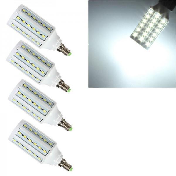 LED E14 15W SMD 5050 Mais Leuchte Lampe Birne Leuchtmittel Glühbirne KaltWeiß